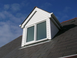 Dormer after cleaning