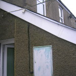 Clean fascias after careful cleaning