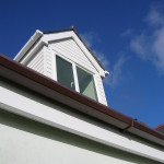 Great looking dormer and fascias after cleaning