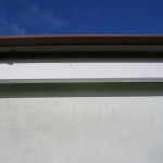 Spotless gutters and fascia boards