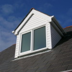 Spotless dormer window after a carefull clean